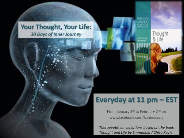 Your Thought, Your Life: 30 Days of Inner Journey